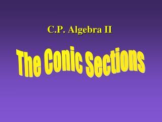 C.P. Algebra II