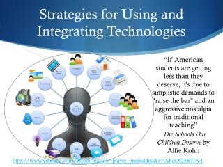Strategies for Using and Integrating Technologies