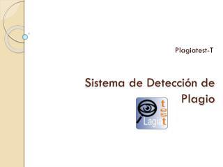 Sistema de Detección de Plagio