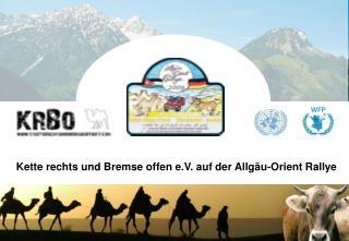 Kette rechts und Bremse offen e.V. auf der Allgäu-Orient Rallye