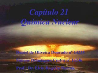 Cap�tulo 21  Qu�mica Nuclear