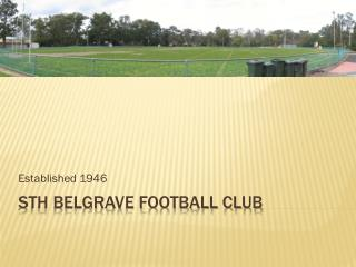 Sth Belgrave Football Club