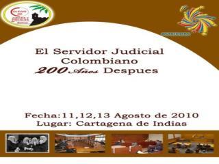 XIX SIMPOSIO NACIONAL DE JUECES Y FISCALES