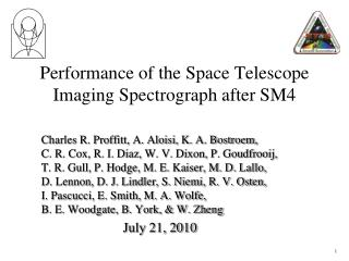 Performance of the Space Telescope Imaging Spectrograph after SM4