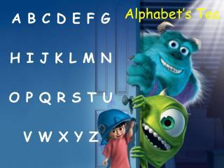 Alphabet's Tea