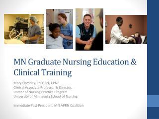 MN Graduate Nursing Education & Clinical Training