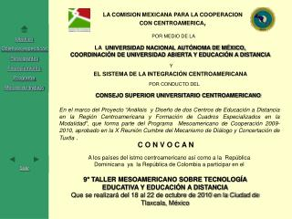 LA  UNIVERSIDAD NACIONAL AUTÓNOMA DE MÉXICO,