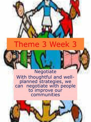 Theme 3 Week 3