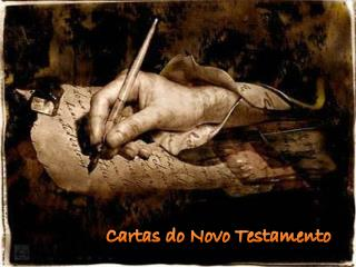 Cartas do Novo Testamento