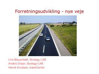 Forretningsudvikling - nye veje