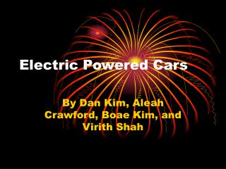 Electric Powered Cars