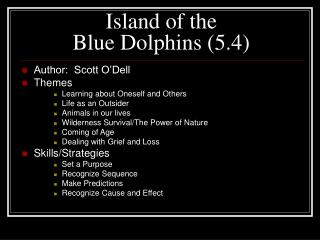 Island of the  Blue Dolphins (5.4)