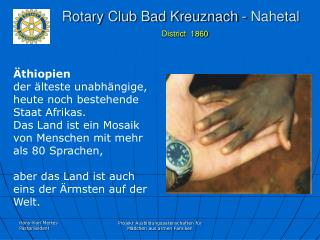 Rotary Club Bad Kreuznach - Nahetal District  1860