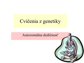 Cvičenia z genetiky