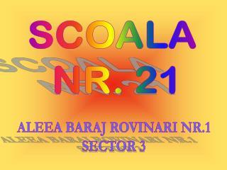 ALEEA BARAJ ROVINARI NR.1 SECTOR 3