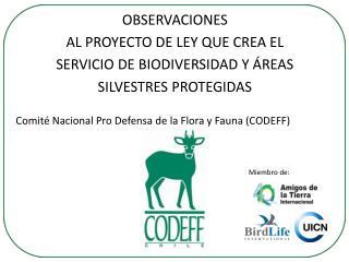 Comité Nacional Pro Defensa de la Flora y Fauna (CODEFF)