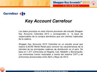 Key Account Carrefour