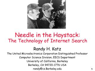 Needle in the Haystack: The Technology of Internet Search
