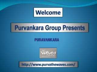 Purva The Waves New Launch Bangalore