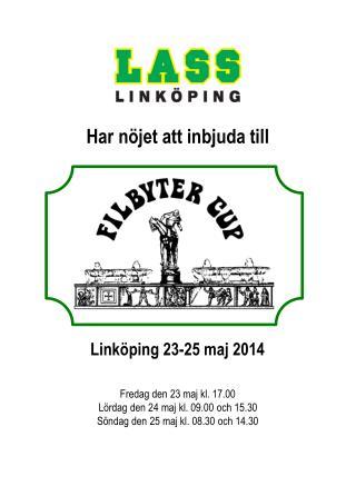 Link�ping 23-25 maj 2014
