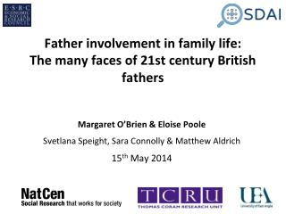 Father involvement in family life: The many faces of 21st century British fathers