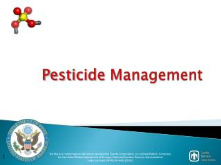 Pesticide Management
