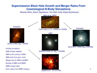 Supermassive Black Hole Growth and Merger Rates From  Cosmological N-Body Simulations