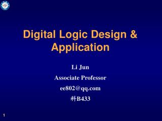 Digital Logic Design & Application