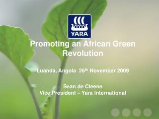 Yara global supply network