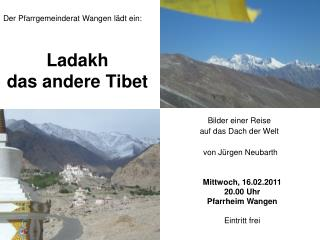 Ladakh das andere Tibet