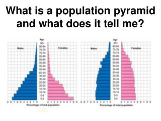 What is a population pyramid and what does it tell me?