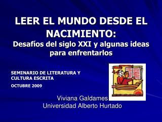 Viviana Galdames Universidad Alberto Hurtado