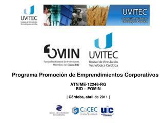 Programa Promoción de Emprendimientos Corporativos