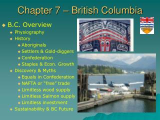 Chapter 7 – British Columbia