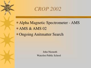 CROP 2002