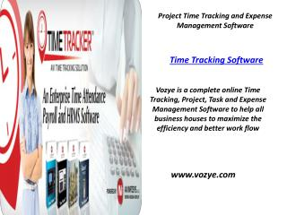 Time Tracking Software |  Task Management Software