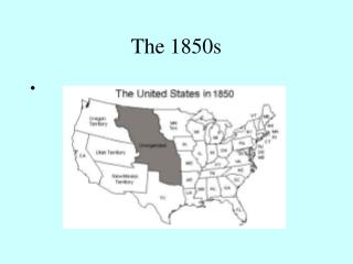 The 1850s