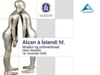 Alcan á Íslandi hf.