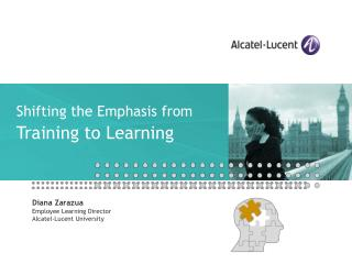 Shifting the Emphasis from Training to Learning