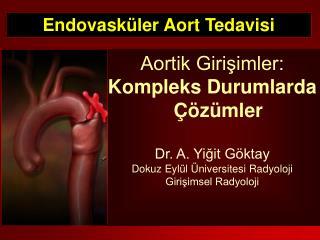 Endovask�ler Aort Tedavisi