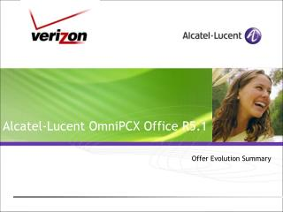 Alcatel-Lucent OmniPCX Office R5.1