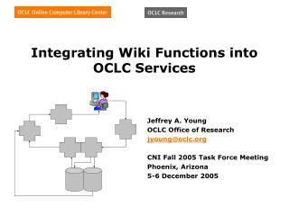 Integrating Wiki Functions into OCLC Services