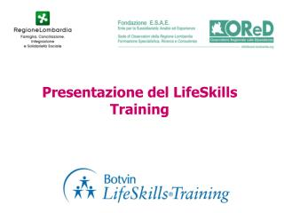 Presentazione del LifeSkills Training
