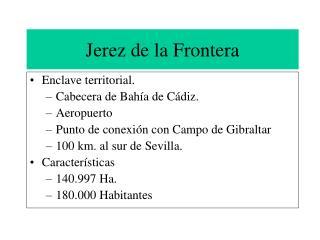Jerez de la Frontera