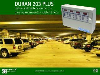 DURAN 203 PLUS