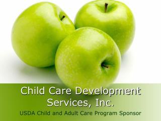 Child Care Development Services, Inc.