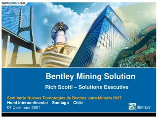 Bentley Mining Solution