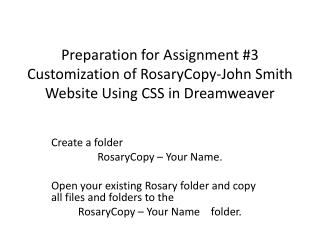 Create a folder  RosaryCopy – Your Name.
