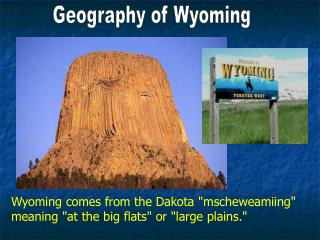 Geography of Wyoming
