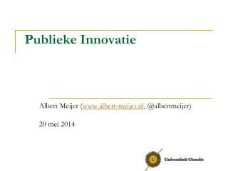 Publieke Innovatie
